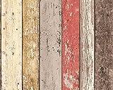 Pop Up Panel 52x250cm selbstklebend 3D-Effekt 95569-1 Holz braun beige creme