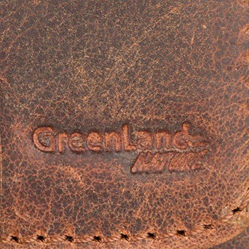 Greenland Montana riñonera piel 12 cm natur