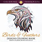 Birds & Feathers Designs Coloring Boo...