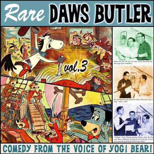 Rare Daws Butler, Volume 3  Audiolibri