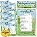 Scavenger Hunt Game - Eye Spy Nature: Fun activity for kids, families & groups - eDigital Creations Party Supplies - amazon.co.uk