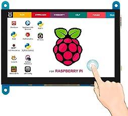 REES52 HDMI TFT LCD Display Monitor 7 inch 1024X600 HD Screen Touch Function Raspberry Pi B+/2B Raspberry Pi 3B