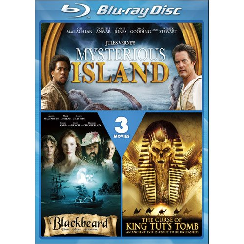 Curse of King Tut's Tomb & Blackbeard & Mysterious [Blu-ray]