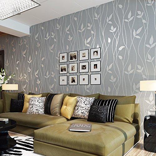 bizhi-tappezzeria-contemporanea-art-deco-che-coprono-di-arte-della-parete-in-carta-non-tessutagrigio