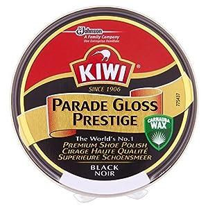 Kiwi Parade Gloss Prestige Schuhcreme schwarz (50 ml) – Packung mit 2