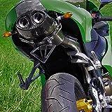 Auspuff Bodis Oval Q1 Slip-On Titan Kawasaki ZX-6R (636) Ninja ZX636C ZX-6RR ZX600N