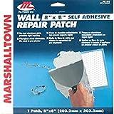Marshalltown gipspleisterset, gemaakt van glasvezel, voor het repareren van gaten in gipsplaat, afmeting: 203x203 mm