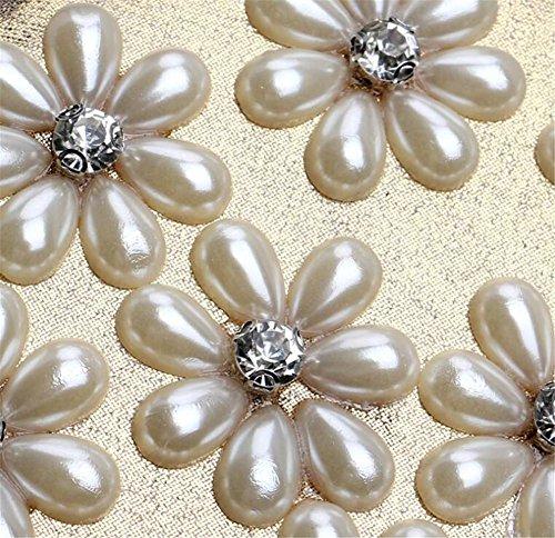 Damen Taschen Clutch Kleid Abend Party Hochzeit Blume Schulter Handtasche Blue