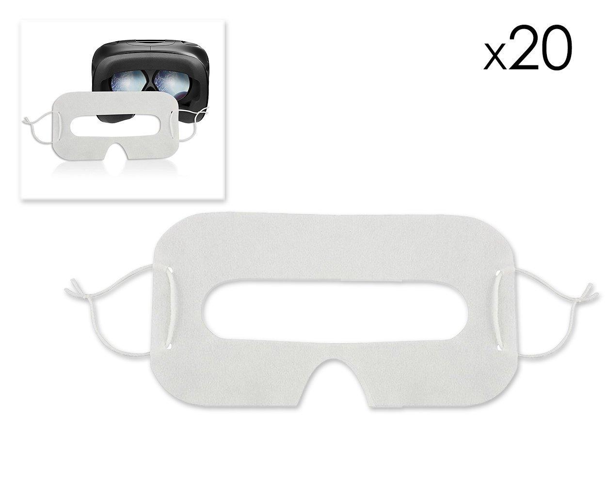 20pcs jetable Masque pour Les Yeux d'hygiène œil Face Cover éviter Les infections œil Masque pour HTC Vive VR Casque