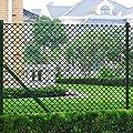 vidaXL Maschendrahtzaun 0,8 x 15 m grün Zaun-SET Maschendraht von vidaXL bei Du und dein Garten