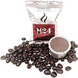 100 Coffee Capsules Compatible Lavazza Espresso Point Crema Aroma - Italian Caffè H24