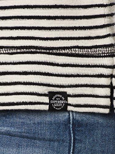 Superdry Longsleeve Women AMOUR STRIPE GRAPHIC TOP Mono Stripe grau (231)