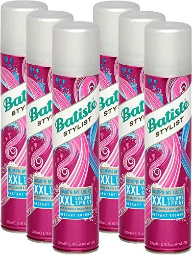 Batiste XXL Volumenspray, Frisches und Voluminöses Haar für alle Haartypen, 6er Pack (6 x 200 ml)