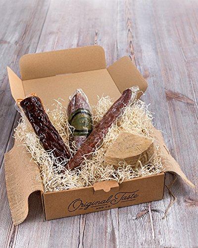 Cesta gourmet BOCATA'S ALLÁ VAMOS. El regalo especial para los más inquietos…