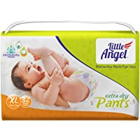 Little Angel Baby Diaper Pants, X-Large - 32 Count (₹ 11.71 / Count)