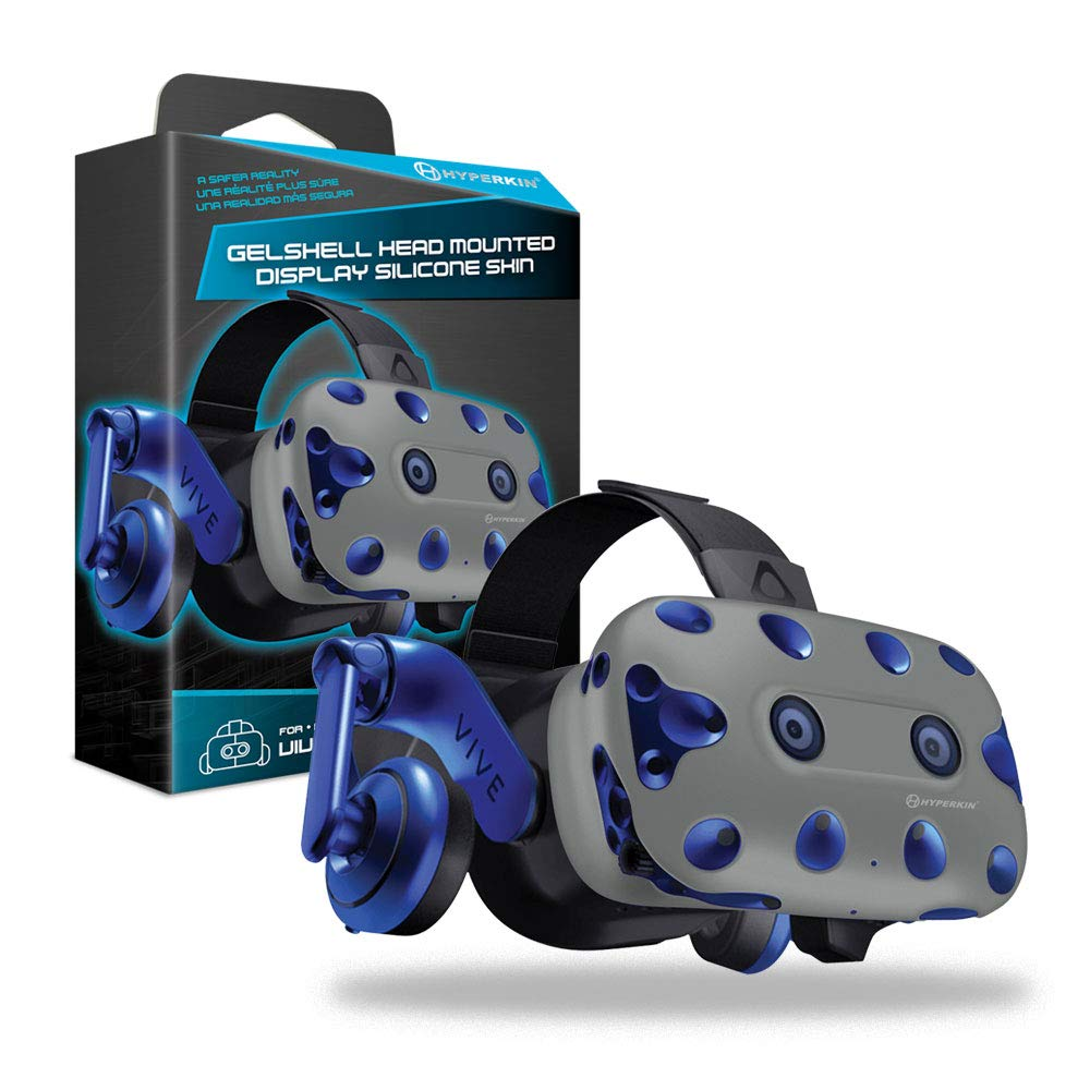 Housse Silicone Gelshell – Casque VR – gris (HTC Vive Pro)