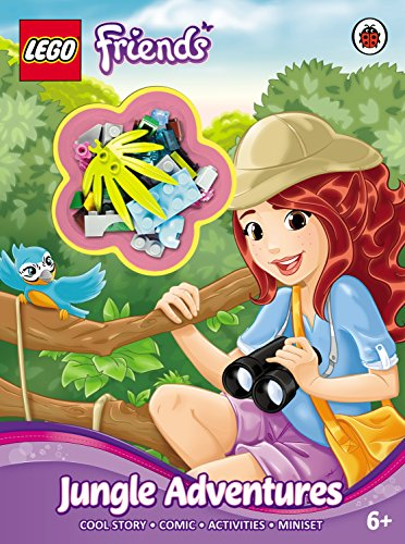 LEGO Friends: Jungle Adventures Activity Book with Miniset