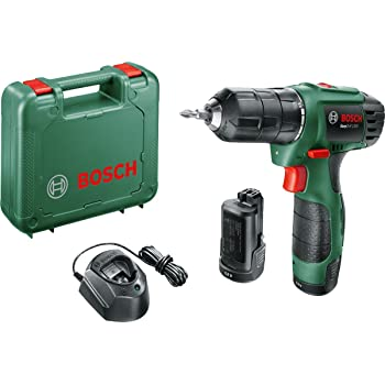 9e02d8b5cb31a1 Bosch EasyDrill 1200 Cordless Drill Driver with Two 12 V Lithium-Ion Battery