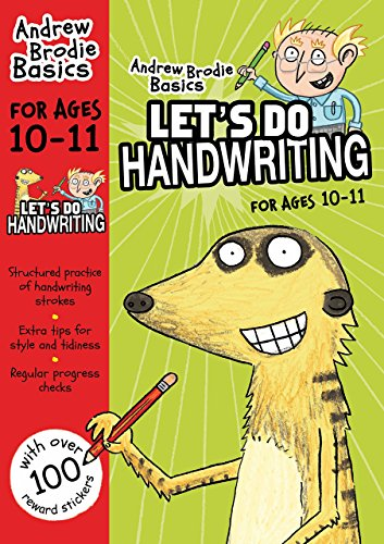Portada del libro Let's do Handwriting 10-11 (Andrew Brodie Basics) by Andrew Brodie (25-Sep-2014) Paperback