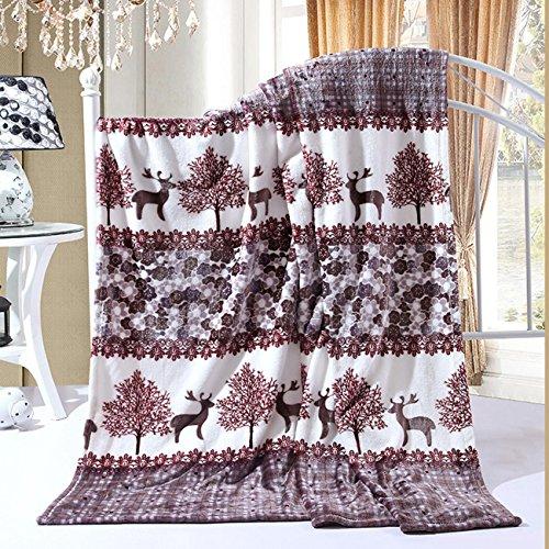flanell Bett Decke Blätter Mikrofaser Solid Fleece Kuscheln Couch Gemütlichen Warmen Glatte Hochzeit Geburtstag Geschenk Decke , m , 180*200cm