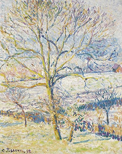 Das Museum Outlet - Big nut-tree, die Frost bei Eragny, 1892 - A3 Poster