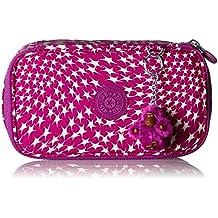 Trousse Kipling 50 Pens Plus Pink Monkey Face rose FNI15Ndn