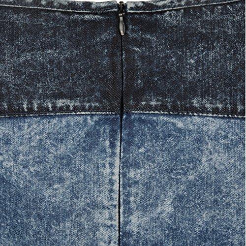 Bellfield B Beleya Femmes Robe En Jeans Jeans