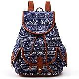 Macbag Mochila escolar Mochila de estilo casual para niños y niñas (Elefante Azul)
