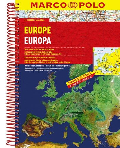 MARCO POLO Reiseatlas Europa 1:2 Mio. (MARCO POLO Reiseatlanten) Test