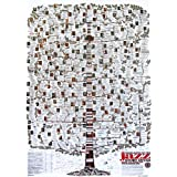 Póster Highlights of the Jazz Story in USA (68,5cm x 98,5cm) + embalaje para regalo