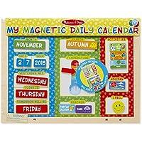 Melissa & Doug - Mi Primer Calendario magnético, ...