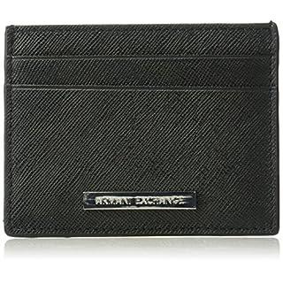 Armani Exchange Men's Saffiano Cardcase