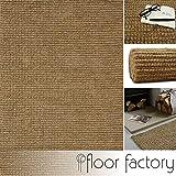 floor factory Alfombra Moderna Natural Yute Natural/Beige 160x230cm