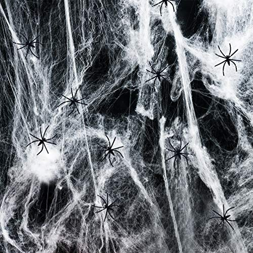 Joyjoz Halloween Spinnennetz, Halloween Deko Halloween Dekoration