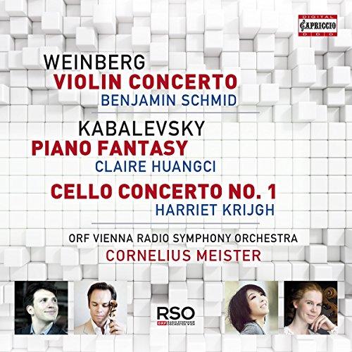Weinberg: Violinkonzert / Kabalewsky: Klavierfantasie / Cellokonzert Nr. 1