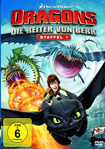 Dragons - Die Reiter von Berk - Staffel 1 [Vol.1 - Vol.4] [4 DVDs] 1 Kleine Video-receiver