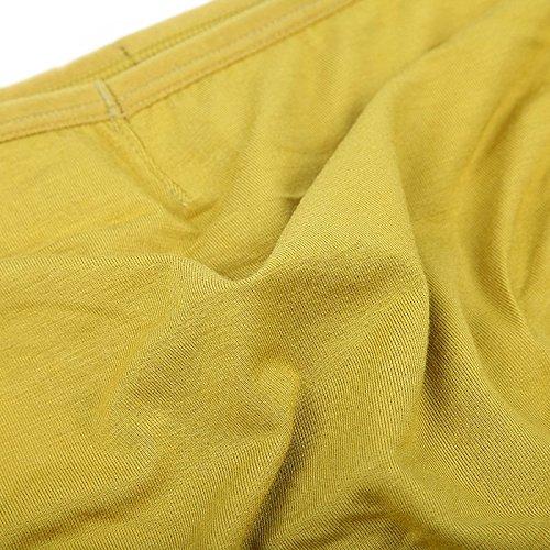 JINSHI Herren Bambusfaser sexy Slip Unterwäsche Triangle Unterhose Multi-4Pack-01