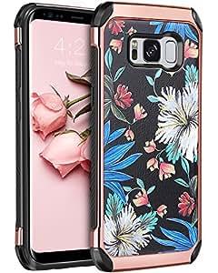 the latest c26b6 df67f Galaxy S8 Case Samsung Galaxy S8 Case Samsung S8 Case BENTOBEN Clear Slim  Shockproof TPU PC Bumper H
