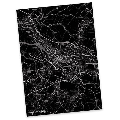 Mr. & Mrs. Panda Postkarte Stadt Bremen Stadt Black - Stadt Dorf Karte Landkarte Map Stadtplan Postkarte, Postkarten, Einladungskarte, Geschenkkarte, Brief, Spruch des Tages, Kärtchen, Geschenk, Karte, Papier, Einladung, Fan, Fanartikel, Souvenir, Andenken, Fanclub, Stadt, Mitbringsel
