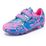 Zapatillas de Fútbol Niño Niña Botas de Fútbol FG/AG Aire Libre Atletismo Zapatos de Entrenamiento Unisex 28-37