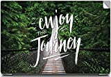 Enjoy the Journey Typography High Quality printed Laptop skins | Laptop decals | Laptop Stickers | Skin Stickers for Apple , HP , Lenovo , Sony , Dell , Acer , Asus , Compaq , Toshiba Laptops for 15.6 inch screen size.