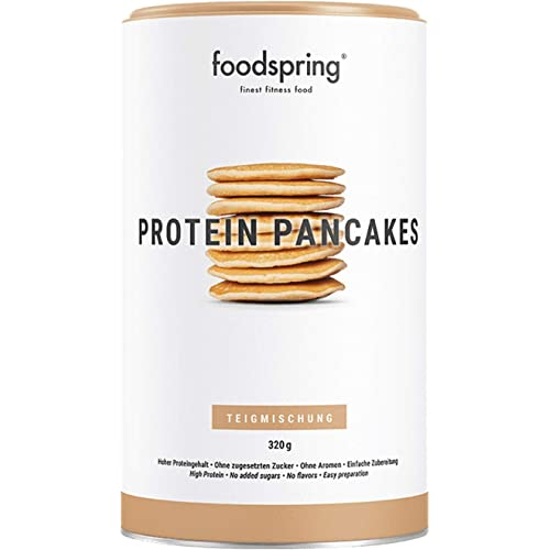 foodspring Pancake Proteici, 320g, 50% di proteine