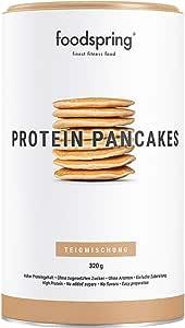 foodspring Mix pour Pancakes Protéinés, 320g, 6 fois plus de protéines que les préparations traditionnelles