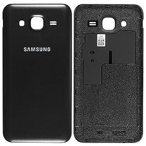 Original Samsung Akkudeckel black / schwarz für Samsung J500H Galaxy J5 (Akkufachdeckel, Batterieabdeckung, Rückseite, Back-Cover) - GH98-37588C