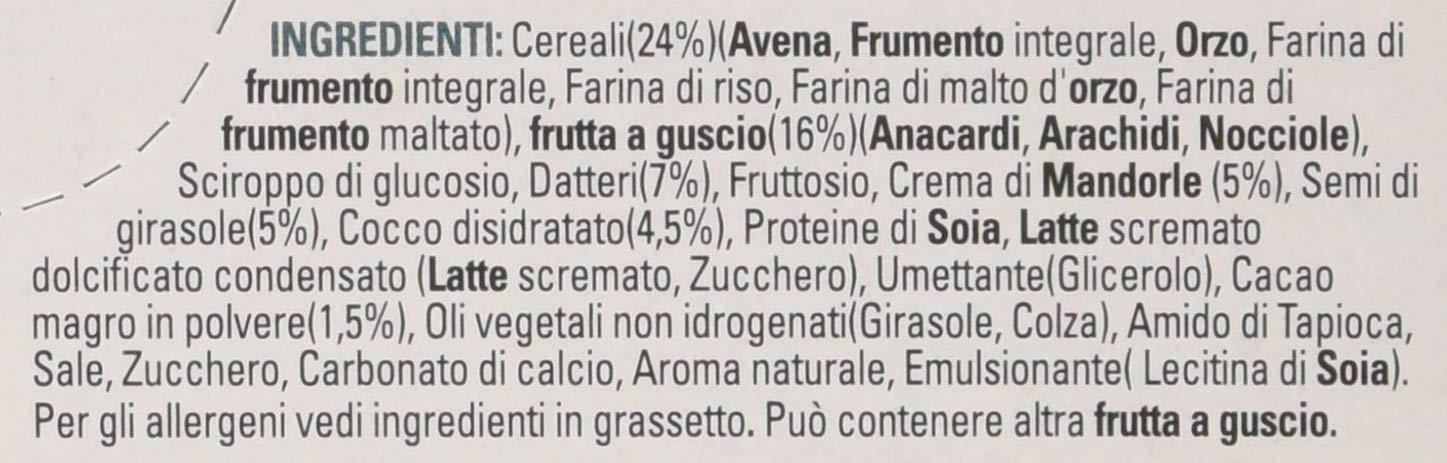 Kellogg'S Special K Barrette Protein Frutta Secca, Semi E Crema Di Mandorle Cocco, Cacao E Anacardi, 4X28G 2 spesavip