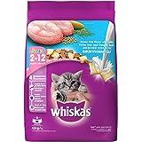 Whiskas Kitten (2-12 months) Dry Cat Food, Ocean Fish, 450g Pack
