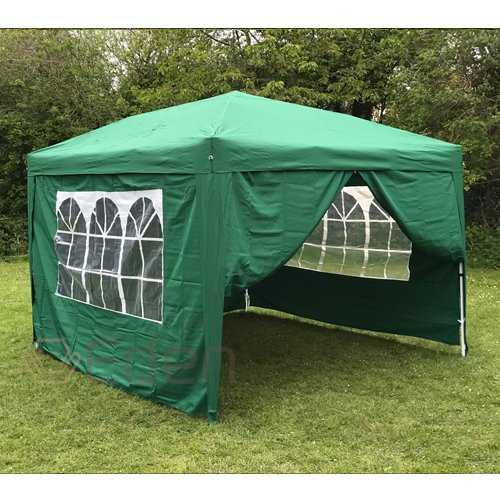 Eden Furnishings 3m X Pop Up Waterproof Garden Gazebo With 2 Wind