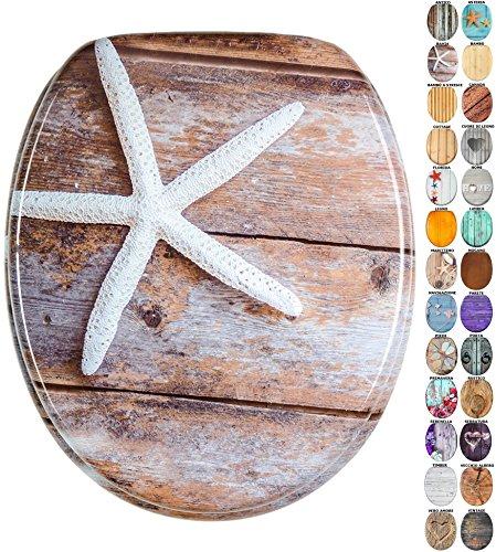 Sedile wc | grande scelta di belli sedili wc da legno robusto e di alta qualità (bahia)