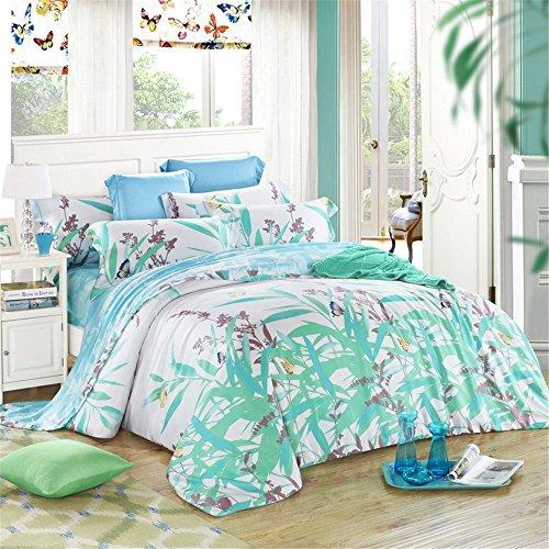 MSAJ-100 cotone biancheria da letto trapunta copripiumino set 134 pezzi foglio cuscino Shams completo