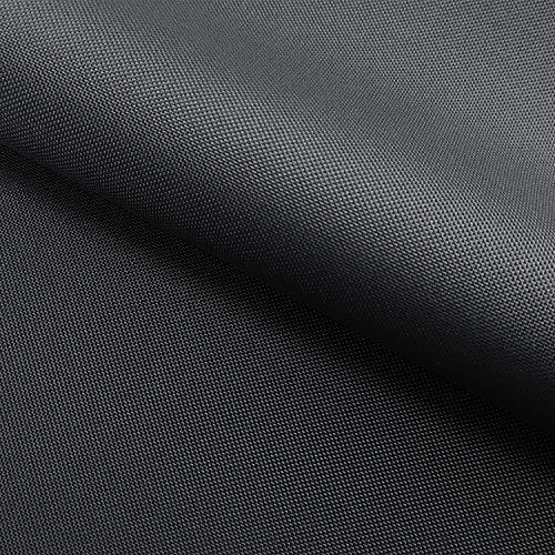 NOVELY® Oxford 210D 02 Graphit | Fest Gewebtes Polyester Stoff wasserabweisend robust | anschmiegsam und nachgiebig | Meterware Segeltuch
